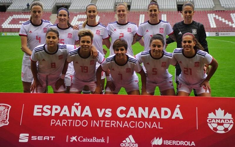 Once inicial de España ante Canadá
