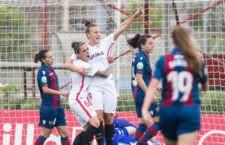 Raquel Pinel anotó el gol del Sevilla FC. Foto: La Liga.