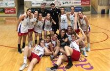 Los equipos del Jaén CB, campeones de Copa Diputación. Foto: FAB Jaén.