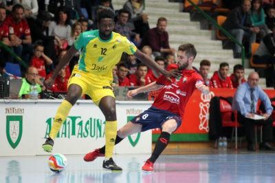 El Jaén FS supera al Osasuna y se mete en semifinal por el título de liga