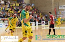 El Jaén FS inicia el playoff con una victoria en casa ante el Osasuna