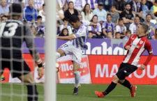 Importante triunfo del Valladolid. Foto: La Liga.