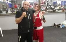 Marta López se corona como Campeona de Andalucía de boxeo en categoría élite