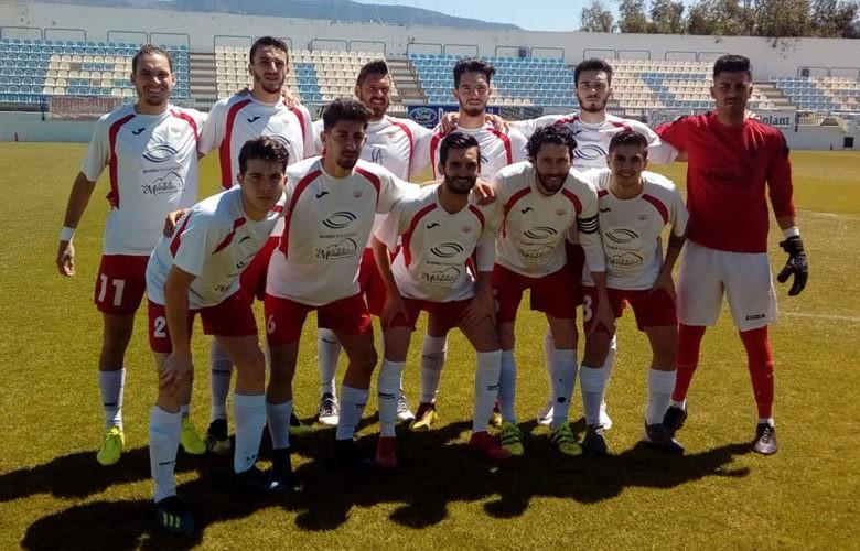 El conjunto marteño se despide de Tercera División. Foto: Martos CD.
