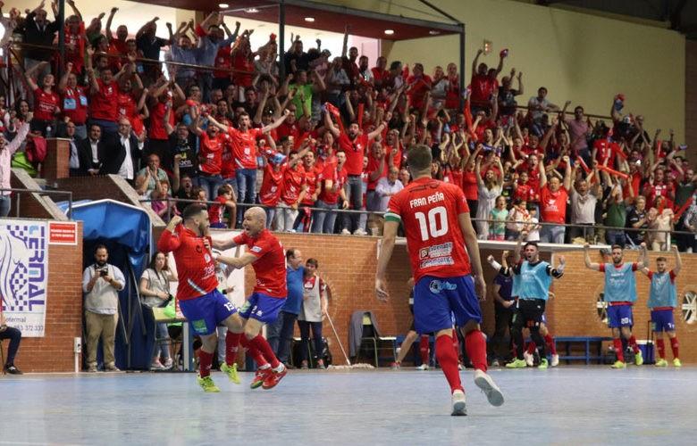 Triunfo del Mengíbar FS para colarse en la final. Foto: LNFS.