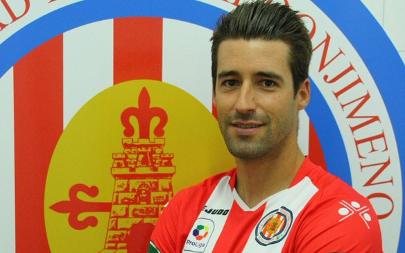 Antonio Montiel, jugador de la UDC Torredonjimeno