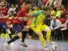 Derrota de Jaén FS ante el equipo navarro. Foto: Osasuna Magna.