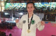 La joven jiennense revalida su título. Foto: Patronato Deportes Jaén.