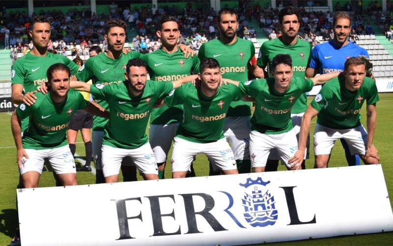 Once inicial del Racing de Ferrol