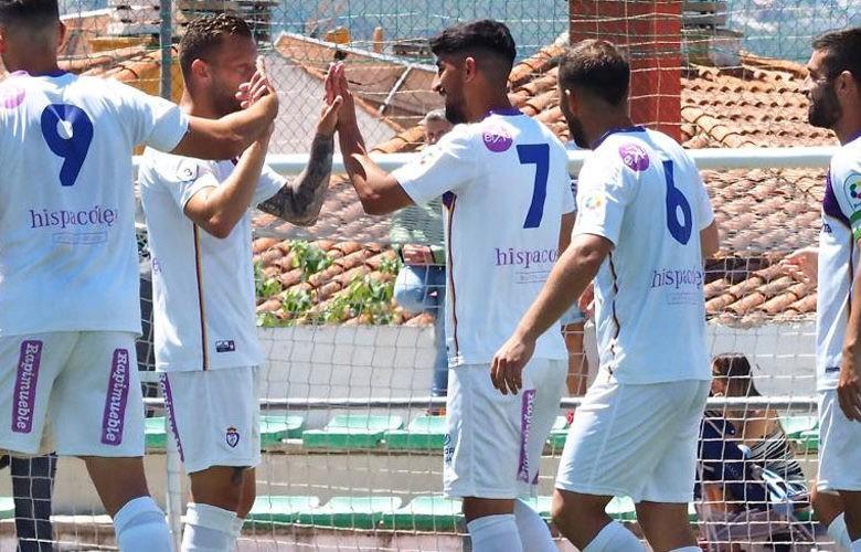 Goleada jiennense ante el Huétor Vega. Foto: Real Jaén CF.