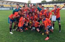 Ismael Casas, campeón de la Slovakia Cup con la Selección Española Sub-18