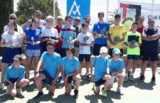 Las pistas de Las Fuentezuelas acogieron el XII Torneo Tenis Team alevín y cadete
