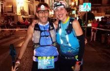 Noelia y Víctor vuelven a ganar la prueba. Foto: Ultra Trail Bosques del Sur.