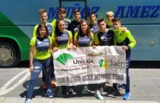 Brillante papel de los atletas jiennenses en la prueba autonómica. Foto: Unicaja Atletismo.