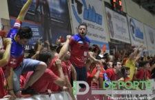 La afición en el Sebastián Moya Lorca (Mengíbar FS – Córdoba Futsal)