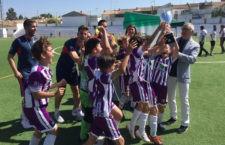 Triplete del Atlético Jaén en fútbol y fútbol sala. Foto: FJF.