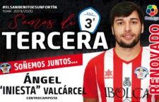 Ángel Iniesta renueva con el Atlético Porcuna