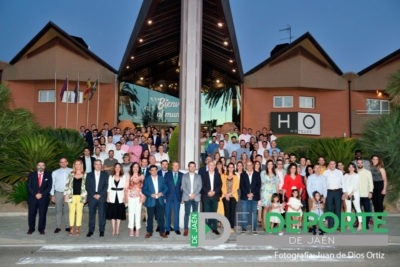 El Jaén FS concluyó la temporada con una cena en el Hotel HO