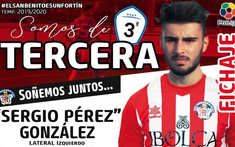 Sergio Pérez, nuevo jugador del Atlético Porcuna