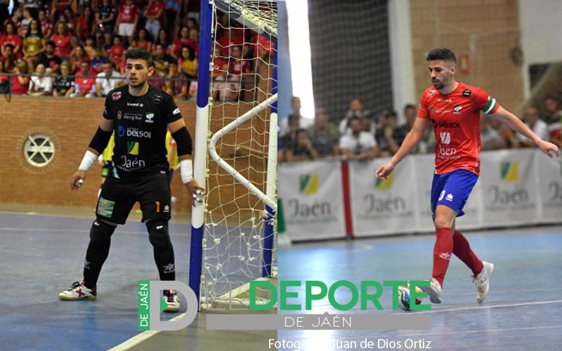 Fran Peña y Rafa López, nuevos jugadores del Jaén FS