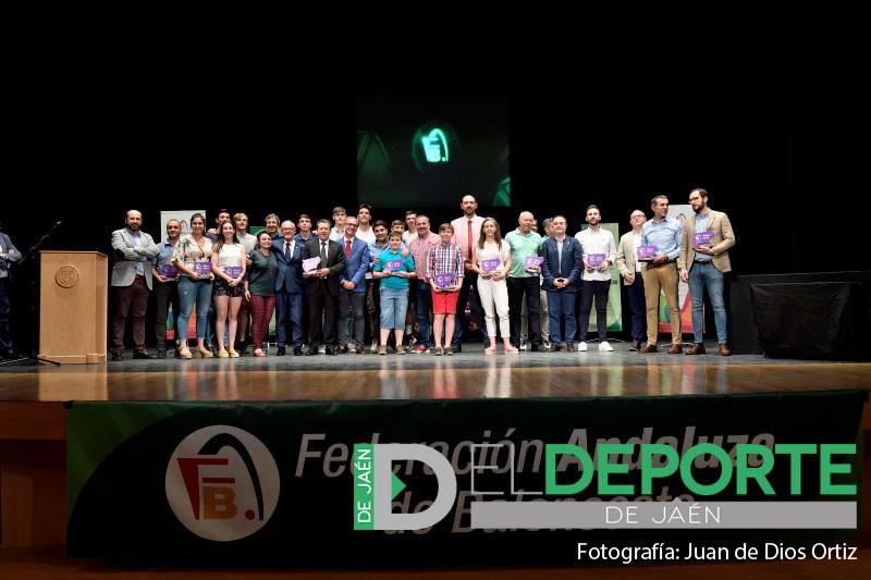 Premiados en la gala FAB Jaén 2019