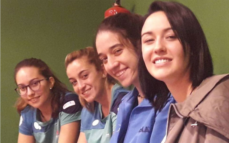 Jugadoras del Hujase Jaén