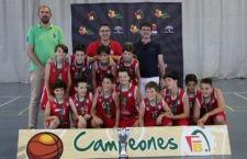Jaén CB, campeón provincial. Foto: FAB Jaén.