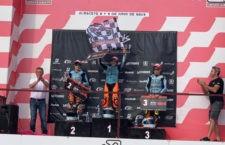 Jesús Torres no se baja del podio en la prueba de la Copa Hawkers celebrada en Albacete