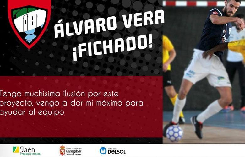 El Mengíbar FS se refuerza con la llegada de Álvaro Vera