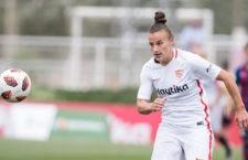 La atacante jiennense seguirá dando goles al equipo sevillista. Foto: LaLiga.