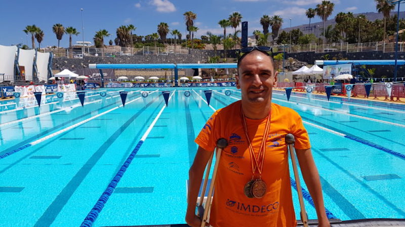 Miguel Ángel Martínez Tajuelo en los Campeonatos de España en Tenerife