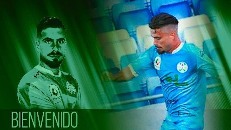 Cartel anunciado del fichaje de Álvaro Torralbo.