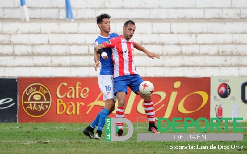 Carrillo en un partido con la UDC Torredonjimeno