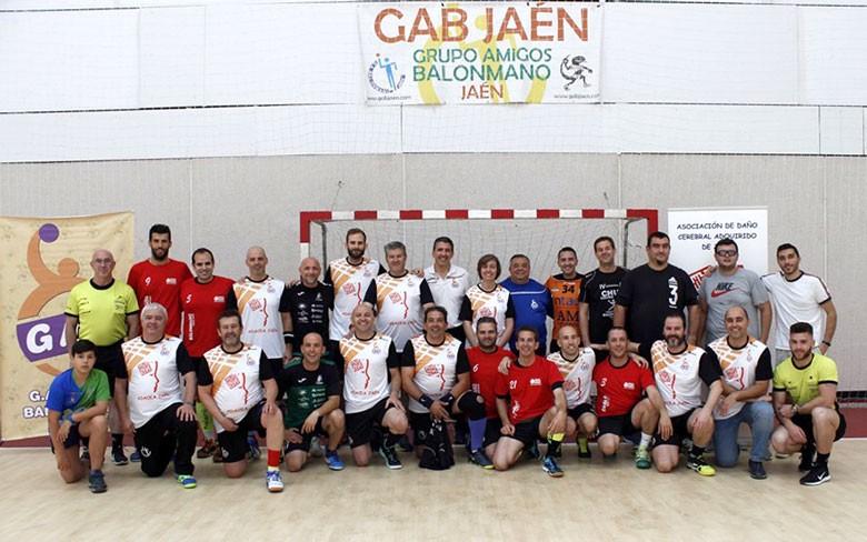 Miembros del equipo de veteranos GAB Jaén