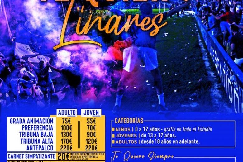 Comienza la campaña de abonados del Linares Deportivo bajo el lema «te quiero Linares»