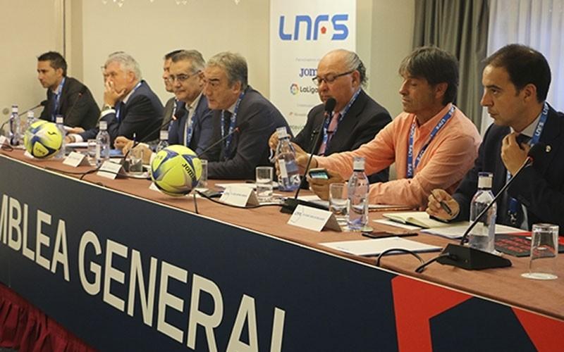 Inicio de la asamblea de la LNFS