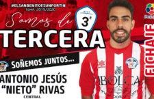 El Atlético Porcuna refuerza su defensa con la llegada de Nieto
