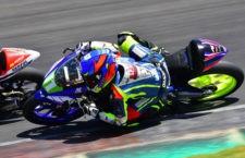 Jesús Torres se sube al podio en el Campeonato de España ESBK de Cheste
