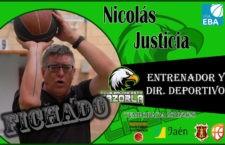 Nicolás Justicia dirigirá el nuevo CB Cazorla con Sergio Badillo como su segundo