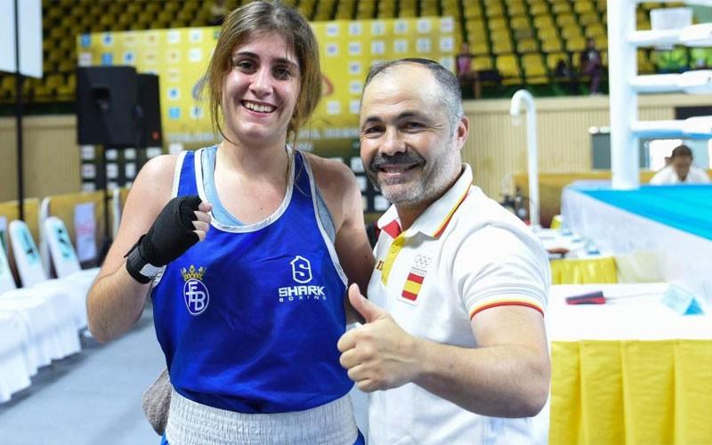 Marta López, boxeadora jiennense