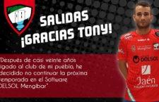 El Mengíbar FS oficializa la salida de Tony y José Ángel