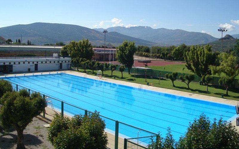 Panorámica de la piscina de La Salobreja