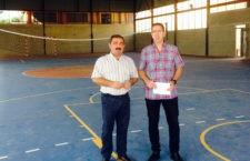 Diputación financia una nueva fase de la pista polideportiva de Santa Elena