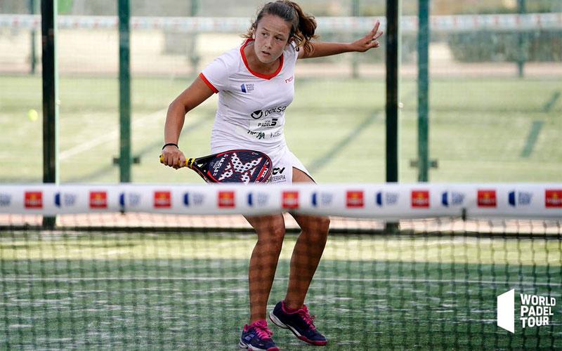 Marta Porras en el Valencia Open de World Padel Tour