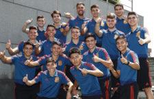 El jiennense Antonio Pérez ya prepara con España el Europeo Sub-19 de Riga