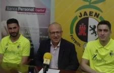 Chano y Gozi, presentados como jugadores amarillos. Foto: M. A. Corbella.