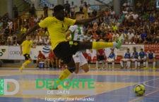 El Jaén FS se topa con la efectividad y la intensidad del Córdoba Futsal