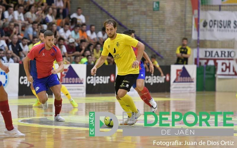 Alan Brandi en el partido entre Jaén FS y ElPozo Murcia