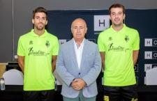 Presentados Fabio y Fran Peña. Foto: Jaén FS.
