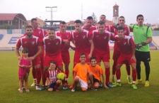 Los melillenses, primer rival del Real Jaén. Foto: Melilla CD.